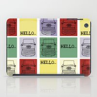 Classic Typewriter iPad Case