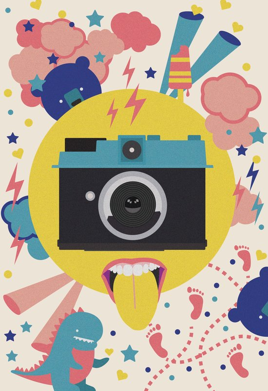 having too much fun to take pictures Art Print