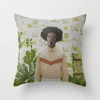 Family Portrait N°9 Throw Pillow