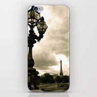 A Night In Paris iPhone & iPod Skin