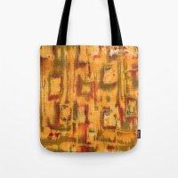 Orange landscape Tote Bag