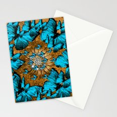 BUTTERFLY WREATH Stationery Cards