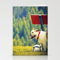 BullDog Stationery Cards