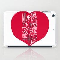 In A Heartbeat iPad Case