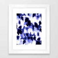 Kindred Spirits Blue Framed Art Print