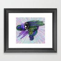 Psicho-eye Framed Art Print