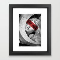 Red Band Framed Art Print