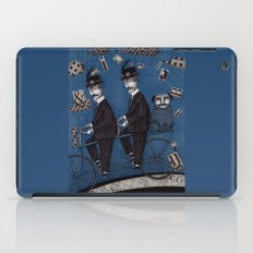 Two Men Travelling iPad Case