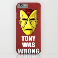 Tony Was Wrong iPhone 6 Slim Case