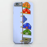 Laundry Day at the Hall of Justice iPhone 6 Slim Case