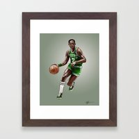 Tiny Archibald Framed Art Print
