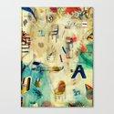 Oxygen Canvas Print