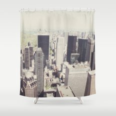 the city::nyc Shower Curtain