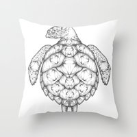 Where Is It We Are Going… Throw Pillow
