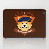 Hello wow, Omelette du Fromage So Much iPad Case
