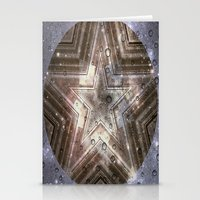 Hollywood Star With Wate… Stationery Cards