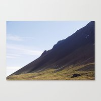 Obliquo, Iceland Canvas Print