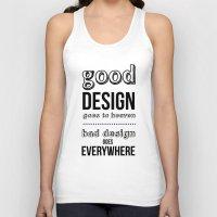 Good Design Goes To Heav… Unisex Tank Top