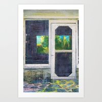 Florida Shotgun Shack Art Print