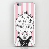 Lady CriCri iPhone & iPod Skin