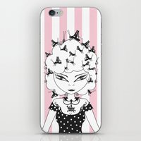 Lady CriCri iPhone & iPod Skin