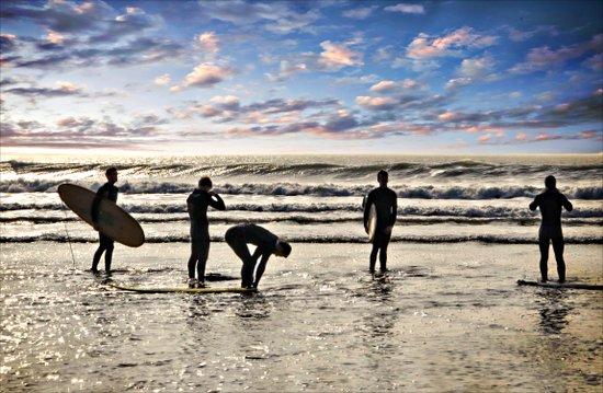 Surfs up Boys Art Print