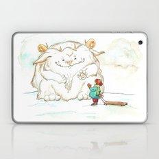 A Friendly Snow Monster Laptop & iPad Skin