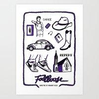 Footloose Art Print