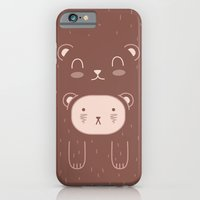 iPhone & iPod Case featuring WILD + BEAR print by WILD and BEAR