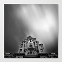Liver Bird Canvas Print