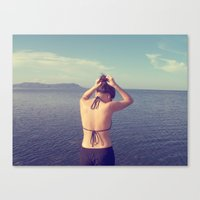 Dilly Canvas Print