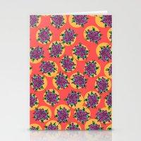 GermFlower Wallpaper (Fe… Stationery Cards