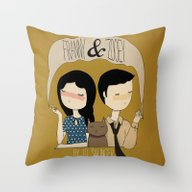 Franny & Zoooey Throw Pillow