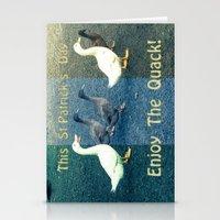 Enjoy The Quack Stationery Cards