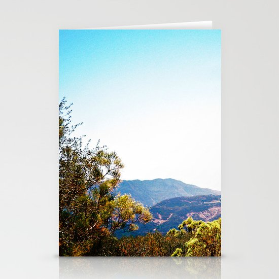 Sandstone Peak 2 Stationery Card
