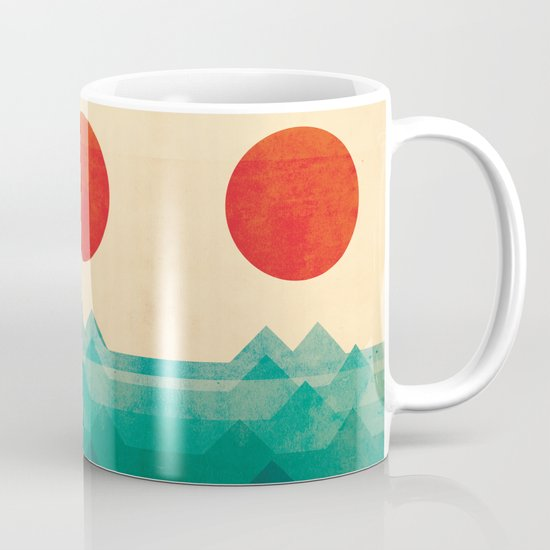 The ocean, the sea, the wave Mug