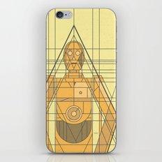 C3PO Deco Droid iPhone & iPod Skin