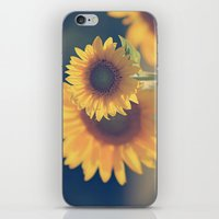 Sunflower 02 iPhone & iPod Skin