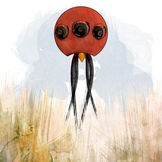 Squidis Beakifidus Art Print