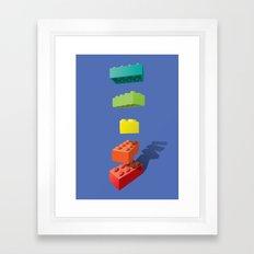 Let Go! Framed Art Print