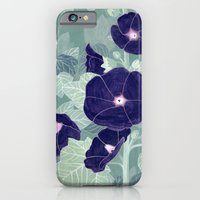 Dark florals iPhone 6 Slim Case