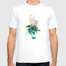 Spring Figure Mens Fitted Tee White SMALL