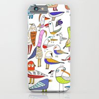Birds. Bird, Pattern, An… iPhone 6 Slim Case