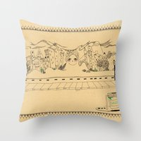 Creative Village Throw Pillow