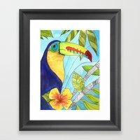 Follow Your Nose Framed Art Print