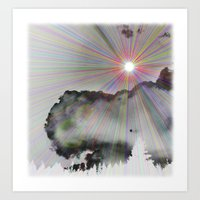 Solar Sky Art Print