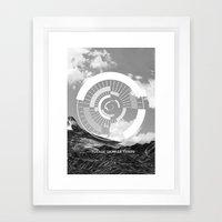 Voyage Dans Le Temps Framed Art Print