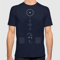 Alchemy Mens Fitted Tee Navy SMALL