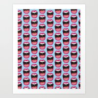 MOUTH BREATHER Art Print