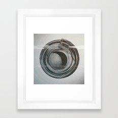Day 0137 /// [sphe]rise Framed Art Print